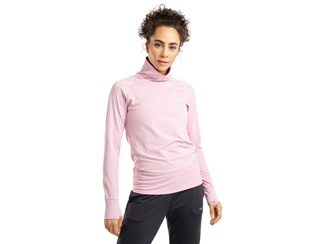 saucony Sunday Funnel Neck Pullover Women dawn pink heather